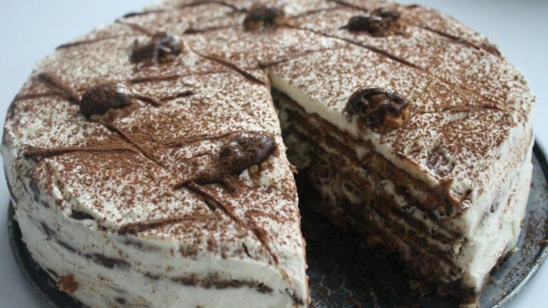 Для любителей сладкого: ореховый торт - рецепт приготовления лакомства в домашних условиях