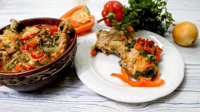 Грузинское чахохбили из курицы: вариации блюда и тонкости приготовления классического рецепта