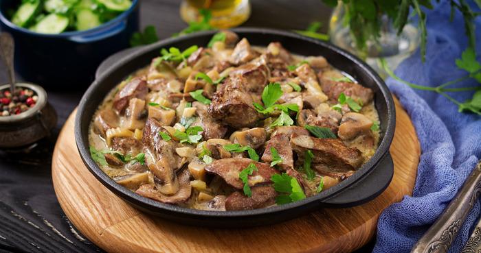 Рецепт жареной куриной печени с луком: удачная компания для любого гарнира
